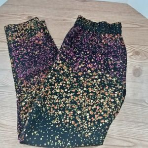 JESSICA SIMPSON Floral Skinny Trousers